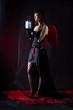 Dark angel with the lantern