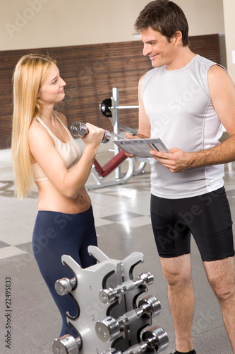 Making personal training plan