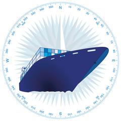 Containerschiff Handel
