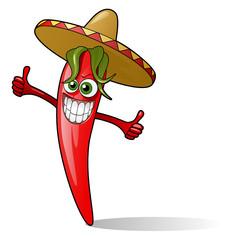 chili smiling