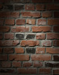 Brick wall with drama