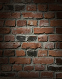 Brick wall with drama poster
