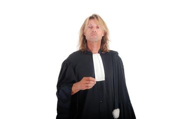 Justice - Portrait d'Avocat mécontent
