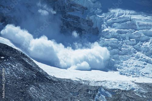 Papiers peints Népal Avalanche
