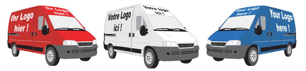 logo hier - logo ici - logo here - vector