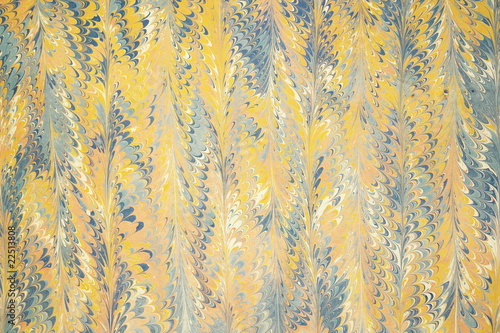 Turkish traditional marbled paper artwork background