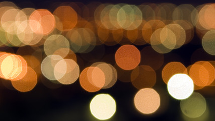 Abstract lights for background