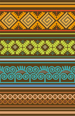 batik lineal color indonesia
