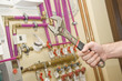 Servicing heating and water systems