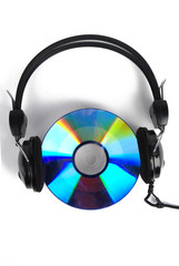 DVD and earphone