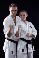 karateka couple