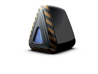 pyramidal computer server