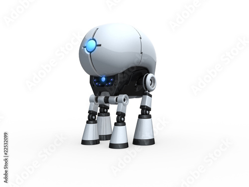 four-footed robot