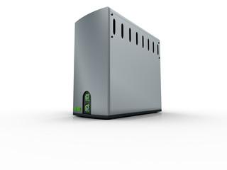 3d regular computer server