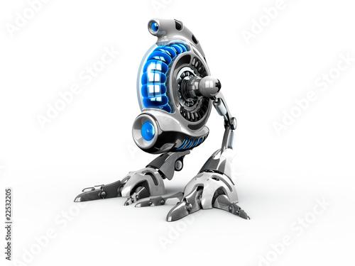 Weird robot-bird