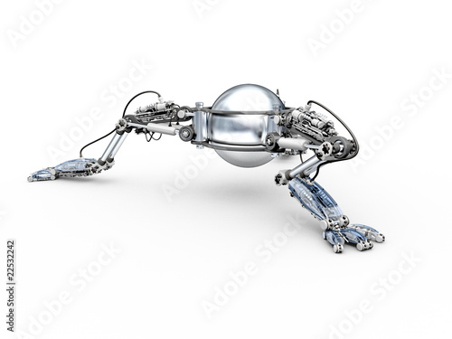 Robot-insect by UnitedIllustrators, Royalty free stock ...  X Files Robot Insects