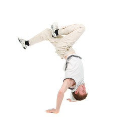hip hop  dancer.breakdance
