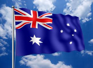 Australien-Fahne
