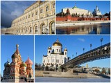 Tourisme dans Moscou poster