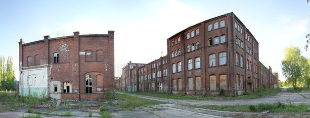 Panorama Industrieruine Köpenick