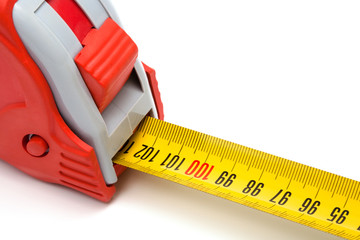 Red tape-measure