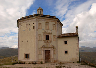 Church at Rocca Calascio