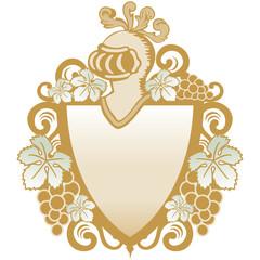 escudo heráldico con parras