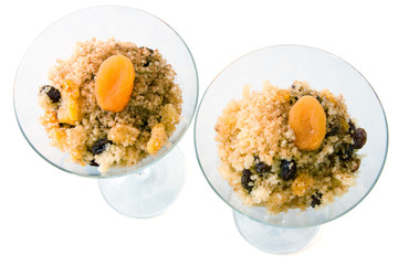 Süßer afrikanischer Couscous