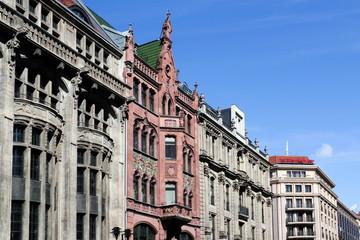 Fassaden in Berlin-Mitte