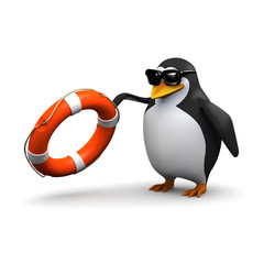 3d Penguin rescue