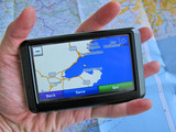 GPS against a map