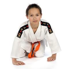 a sporter in a kimono