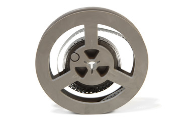 Film Reel isolated on a white background