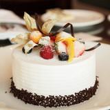 Fototapety White Cream Cake