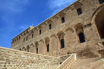 A view of Deyruzzafaran Monastery