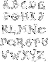 desing alphabet