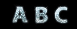 Fototapety Font made from a disco ball