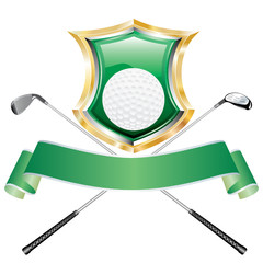 golf green shield