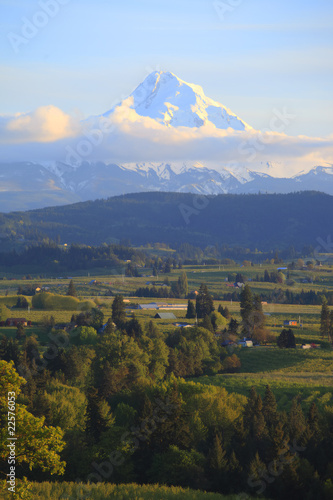 Hood River valley & Mt. Hood