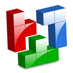 icona tetris a cubi