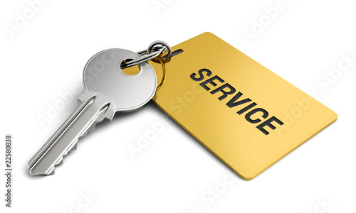 Key with golden keyring service