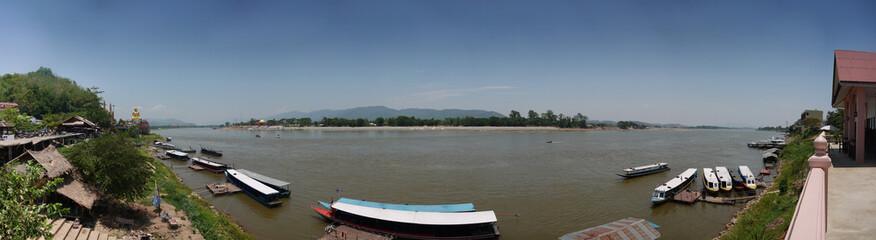 Golden Triangle: Thailand, Laos, Burma River