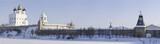 Winter panorama of the Pskov Kremlin poster