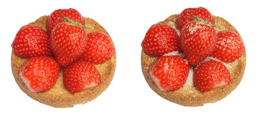 Rusk strawberry