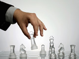 Chess Set Collection: King move poster