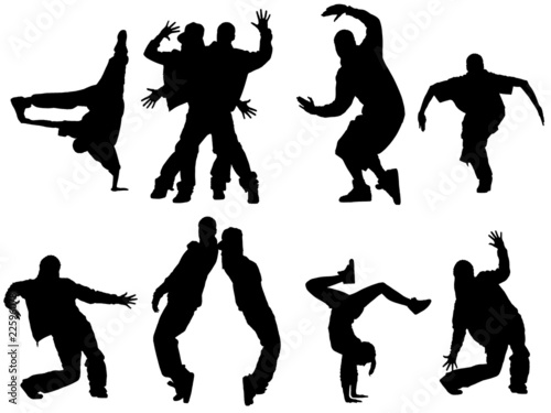Hiphop dancers