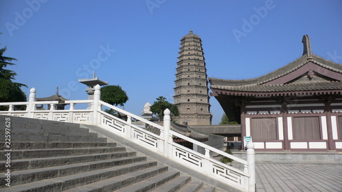 Famen Temple Pagoda at Xian China