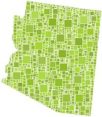 Map of Arizona (USA)