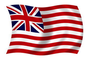 1776 first us flag