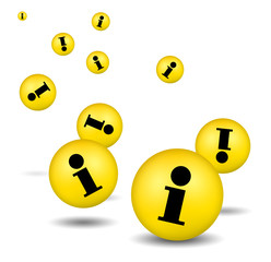 Information Icons - yellow